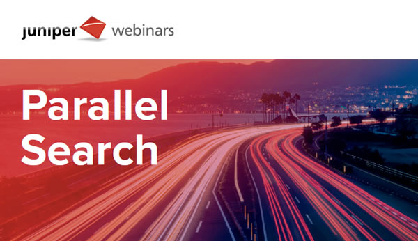 Webinar Juniper Parallel Search