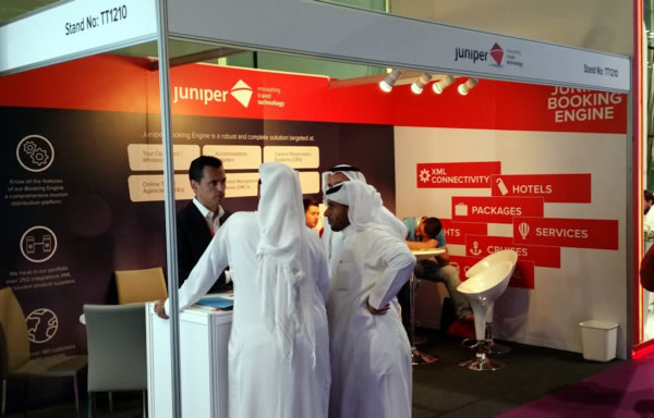 Juniper en la Arabian Travel Market 2016
