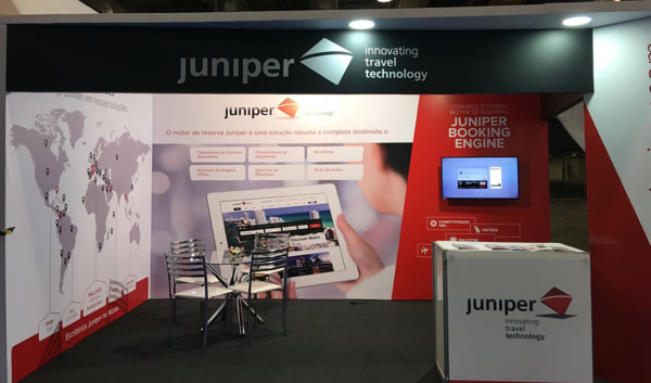 Juniper at the Iftm Top Resa and ABAV