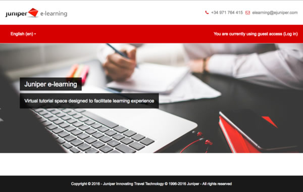 New Juniper E-learning platform