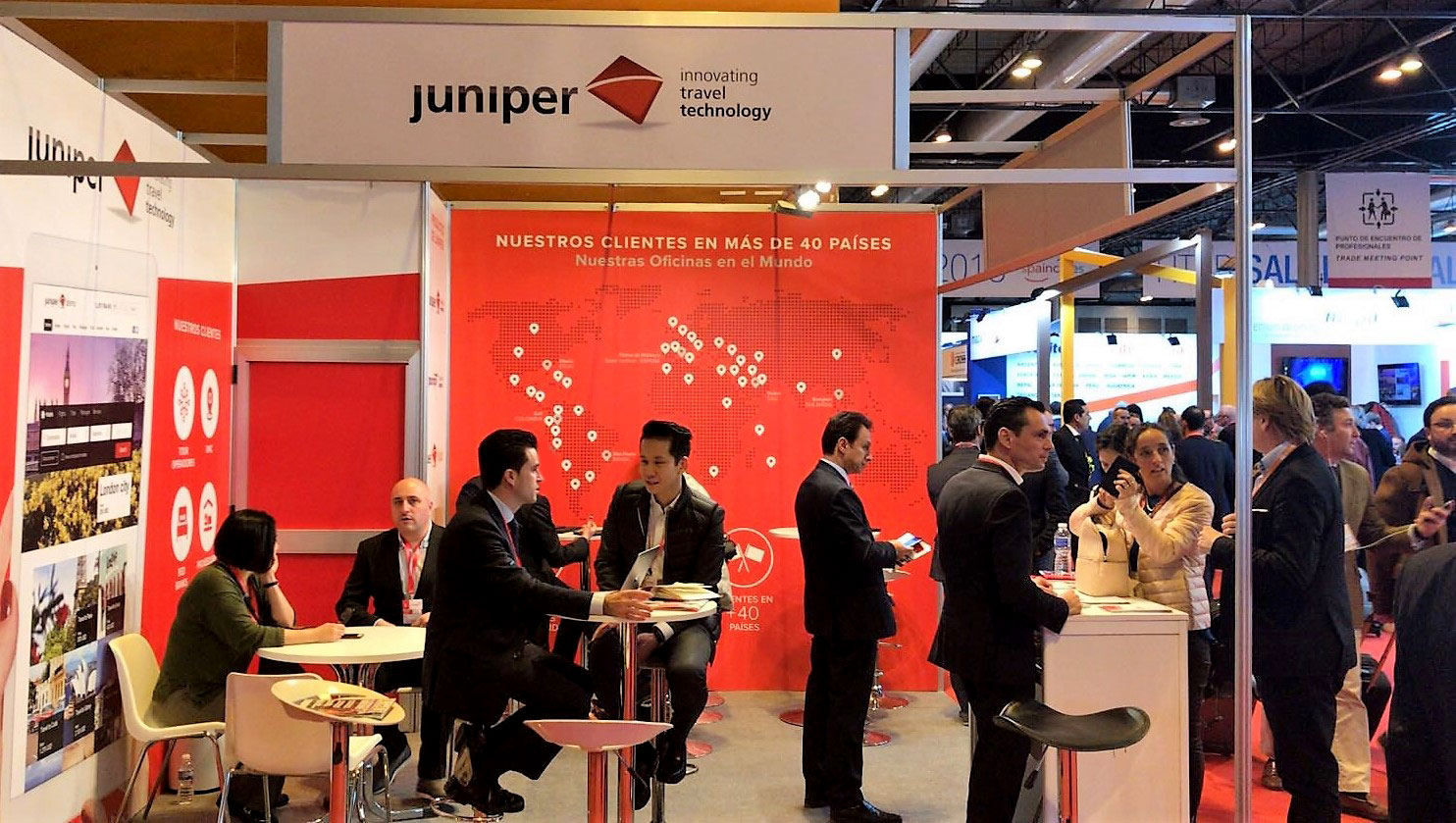 Juniper at FITUR 2018, world tourism showcase