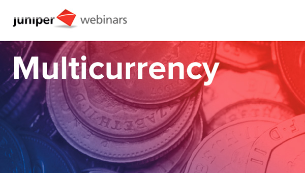 Webinar on the new Multicurrency module