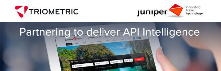 Juniper and Triometric come together to offer a powerful Business Intelligence API service