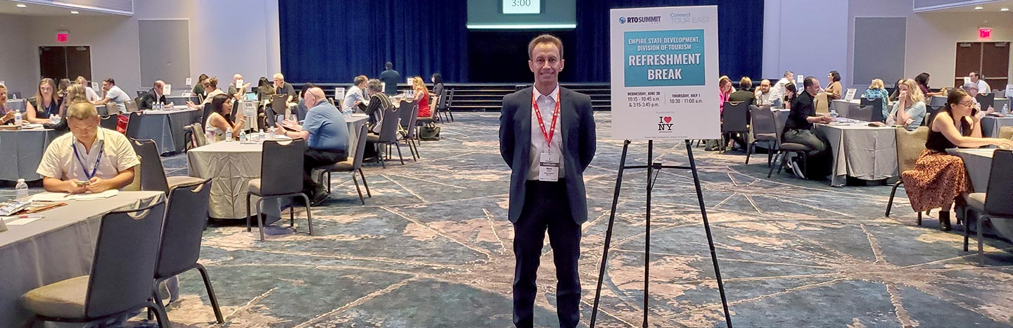 Technology and tourism, trends at RTO Summit East